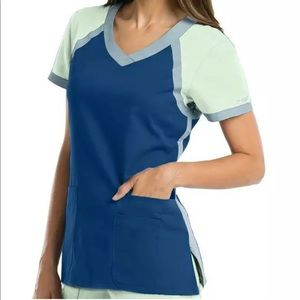 Grey's Anatomy scrub top XS NEW